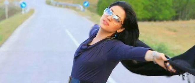 27bec54ed77c Photo d une Iranienne ayant poste son portrait sans voile sur la page de l