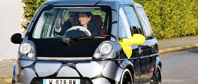 Ségolène Royal avait fait de Mia sa voiture officielle.