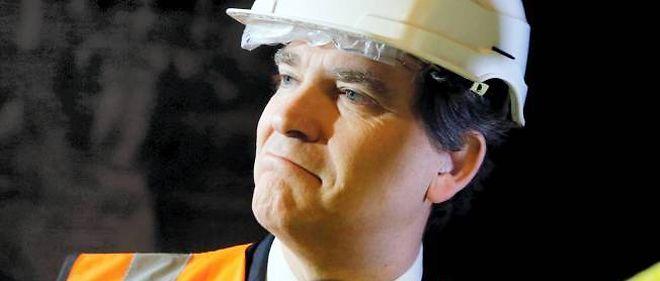 Arnaud Montebourg dans une usine de Montmorency, le 21 février dernier.