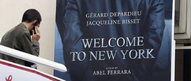 """""""Welcome to New York"""", en VOD à partir du 17 mai 2014."""