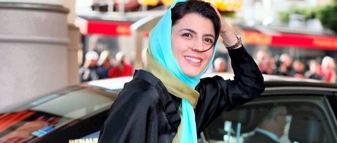 Leila Hatami lors de son arrivée à Cannes, le 13 mai.