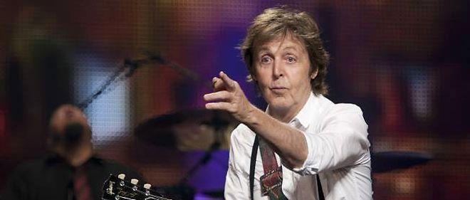 Paul McCartney en concert en 2011.