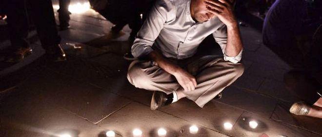 Commémorations pour les victimes du drame de Soma, en Turquie.