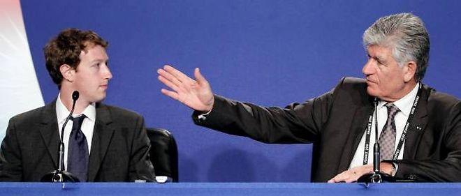 En 2011, Maurice Lévy et Mark Zuckerberg partageaient la même tribune au G8 à Deauville.