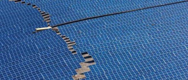 Une centrale solaire, ici dans le Sud de la France (illustration).
