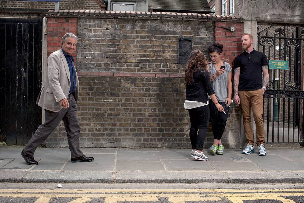 """Christian Clavier s'est installé à Londres il y a deux ans à Londres """"à cause des médias français"""" ©  Reportage Khan Renaud / Square pour """"Le Point"""""""