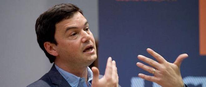 """L'économiste français Thomas Piketty, auteur du """"Capital au XXIe siècle"""", le 30 avril 2014 à Londres."""