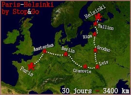 Paris-Helsinki ©  DR