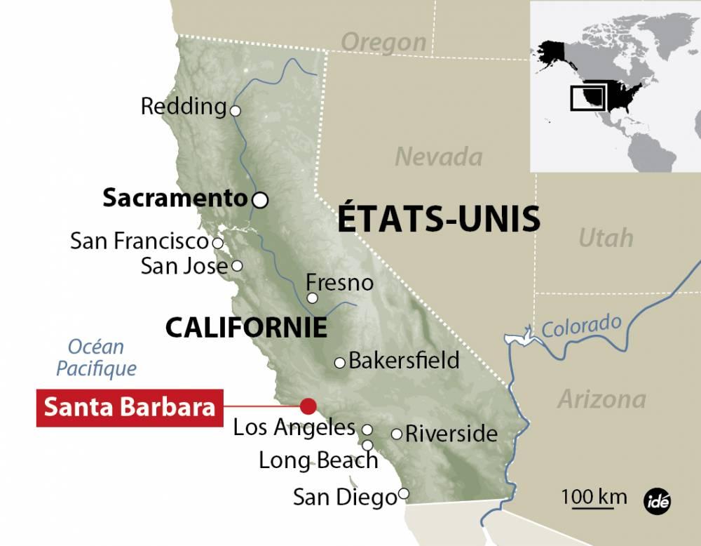 Un homme a tiré au hasard sur des piétons à Santa Barbara en Californie.