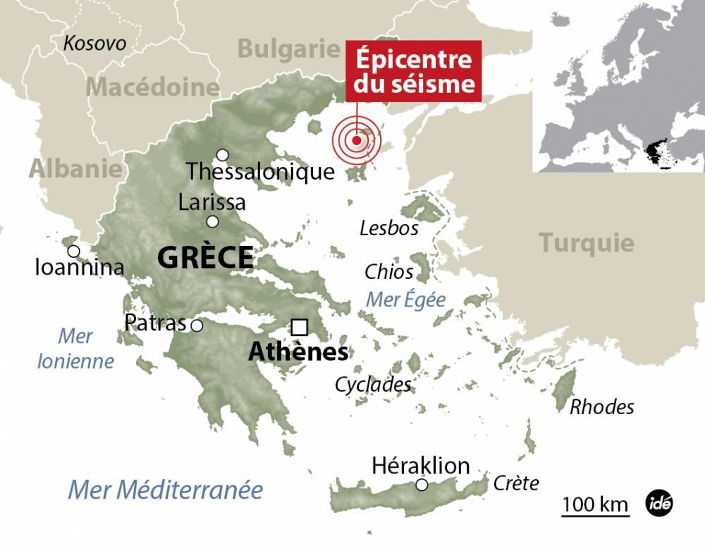 Le séisme qui s'est produit en Grèce a blessé plus d'une centaine de personnes en Turquie.