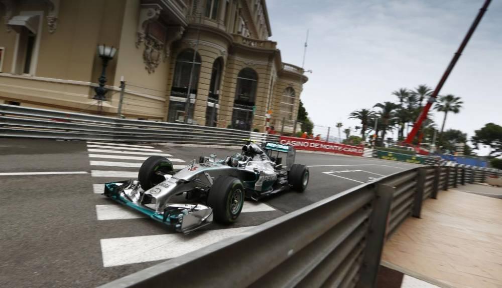 Un circuit en ville, ici au Casino, cela devient une exception en F1 ©  Mercedes
