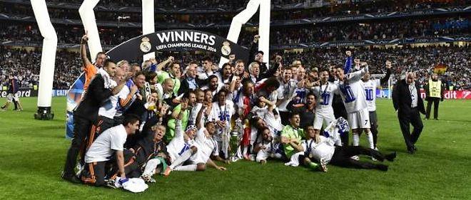 Le Real Madrid remporte sa 10e Ligue des champions, au terme d'une finale contre l'Atlético (4-1 ap.).