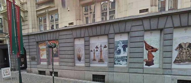 La façacde du musée juif de Bruxelles, en plein centre ville. ©Google Street view