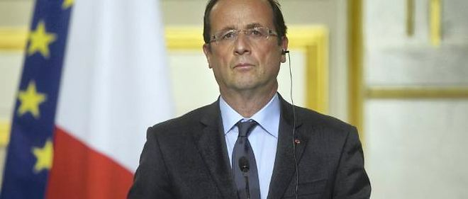 François Hollande s'était exprimé depuis l'Élysée vendredi soir.