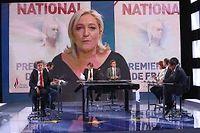La soirée électorale sur France TV. ©FranceTV