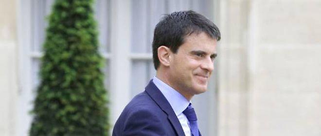 le Premier ministre Manuel Valls, le 26 mai 2014.