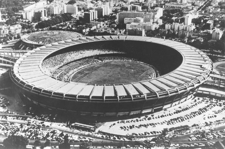 Le Maracana, à Rio de Janeiro, est le plus grand stade jamais construit (DPA/AFP).