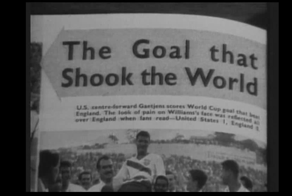 La presse choquée par la défaite des Anglais contre les Américains. ©  Capture d'écran