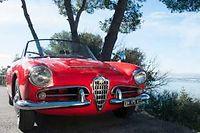 L'Alpha Romeo Spider Giulia. ©DR