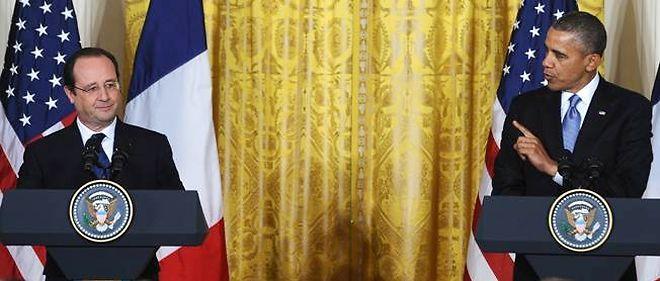 François Hollande a rappelé qu'il avait l'intention d'en parler jeudi soir à l'Élysée lors d'un dîner avec le président américain Barack Obama à la veille des commémorations du Débarquement en Normandie.