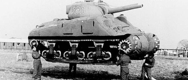 L'armée américaine a fait croire aux nazis un faux débarquement.