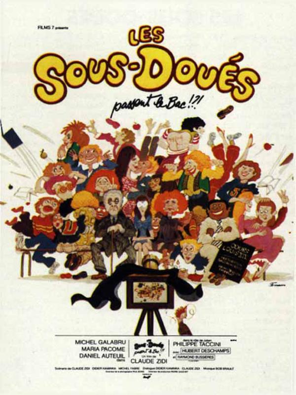 Les sous-doués passent le bac (1980) de Claude Zidi