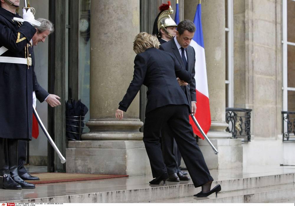 "Sarkozy, ""prince charmant"" ©  CHRISTOPHE ENA/AP/SIPA"