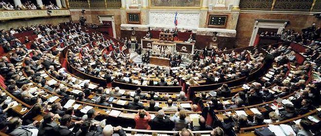 L'hémicycle de l'Assemblée nationale (photo d'illustration).