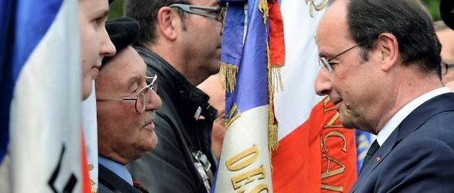 Après avoir côtoyé les grands de ce monde lors des commémorations du Débarquement, François Hollande a rendu hommage aux pendus de Tulle.