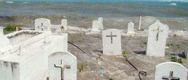 Une vingtaine de squelettes de soldats japonais de la Seconde Guerre mondiale ont été découverts sur les îles Marshall à la suite de l'érosion des côtes par les vagues (voir ci-dessous) - Photo d'illustration.