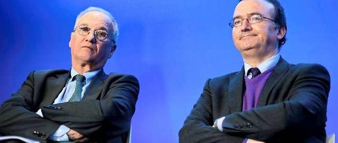 """Gilles Carrez et Hervé Mariton alertent le gouvernement sur le ras-le-bol fiscal des """"classes moyennes""""."""