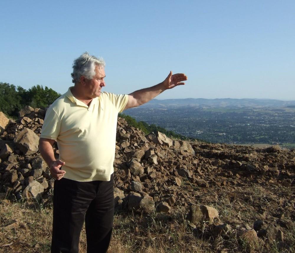 Pierre Seillan, cru Vérité en Sonoma Valley. ©  DR