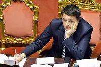 Le Premier ministre dispose au parlement de la majorité de son prédécesseur, peu disposée à se laisser bousculer. ©Andreas Solaro/AFP