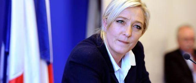 La présidente du Front national, Marine le Pen.