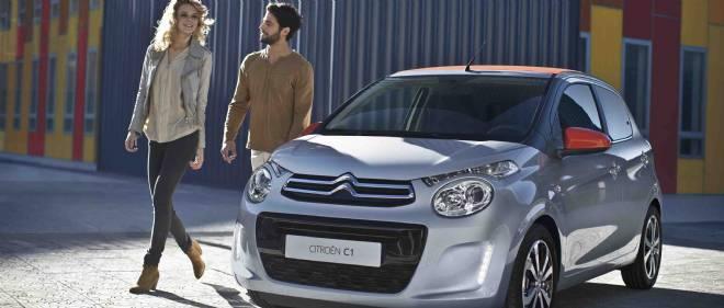A trois ou 5 portes, la petite Citroën C1 veut être, elle aussi, une reine en ville.
