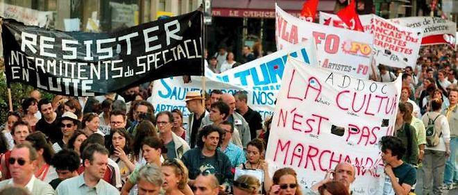 Les intermittents estiment que leurs propositions alternatives de réforme de leur régime d'indemnisation chômage n'ont pas été écoutées.