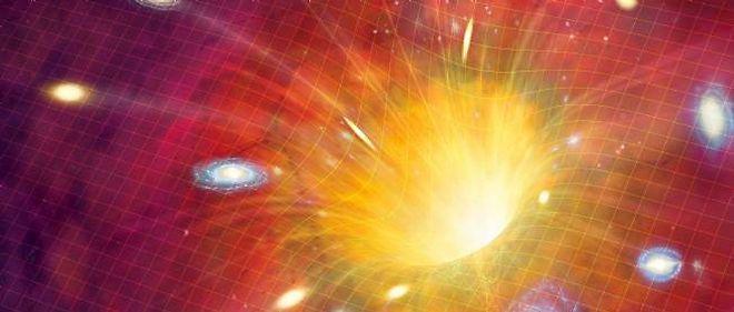 Vision artistique du big-bang. © MARK GARLICK / MGA / Science Photo Library