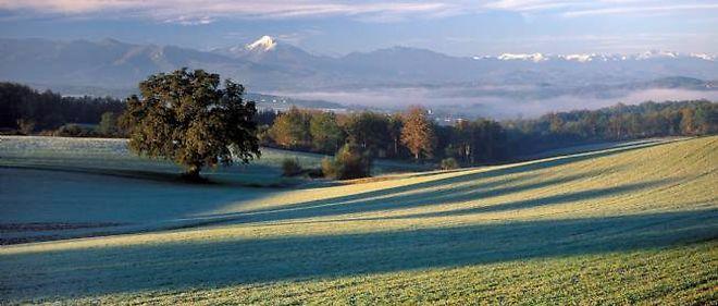 Un paysage de la région Midi-Pyrénées.