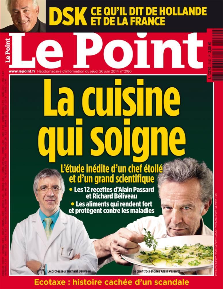 """Couverture du """"Point"""" n°2180 ©  DR"""