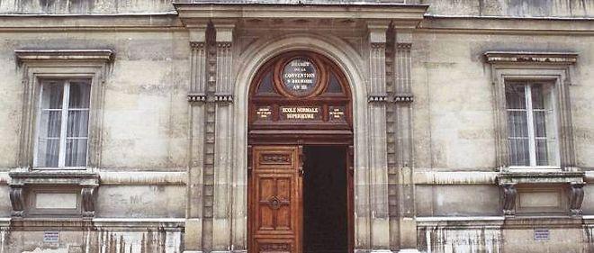 L'École normale supérieure rue d'Ulm à Paris.
