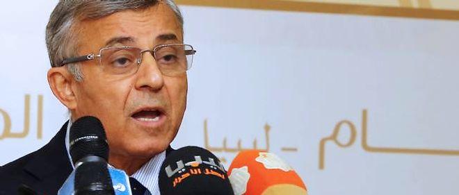 Le président du Congrès national libyen, Nuri Abu Sahmein, à Tripoli en juin 2014.