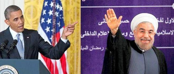 Le président américain Barack Obama et son homologue iranien, Hassan Rohani, sont amenés à coopérer sur la question irakienne.