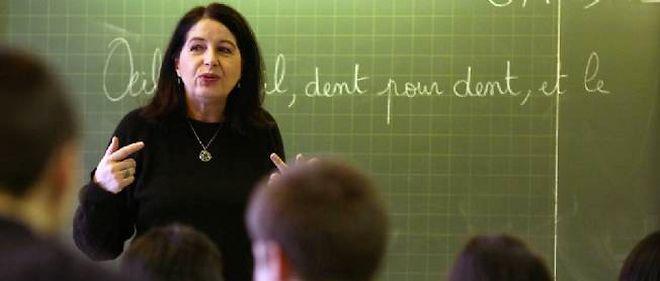 Alors qu'ils sont neuf sur dix à se dire satisfaits de leur métier, 5 % seulement des professeurs pensent que leur travail est valorisé dans la société (photo d'illustration).