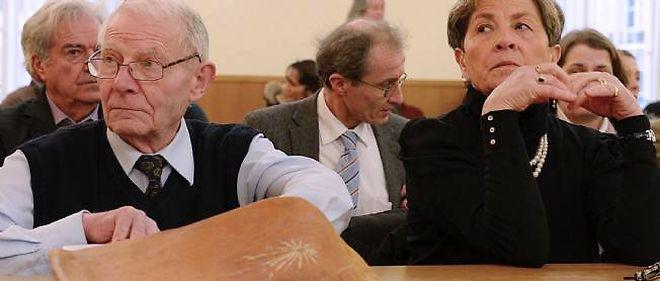 Pierre et Viviane Lambert, le 15 janvier 2014.