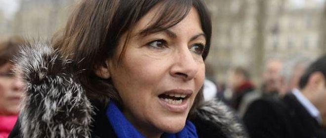 La candidate PS à la mairie de Paris, Anne Hidalgo.