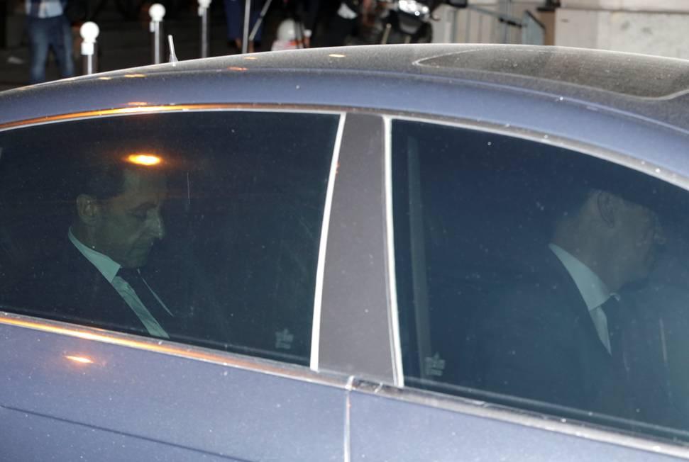 L'ex-chef de l'État est mis en examen à l'issue de 15 heures de garde à vue ©  Triboullard/AFP