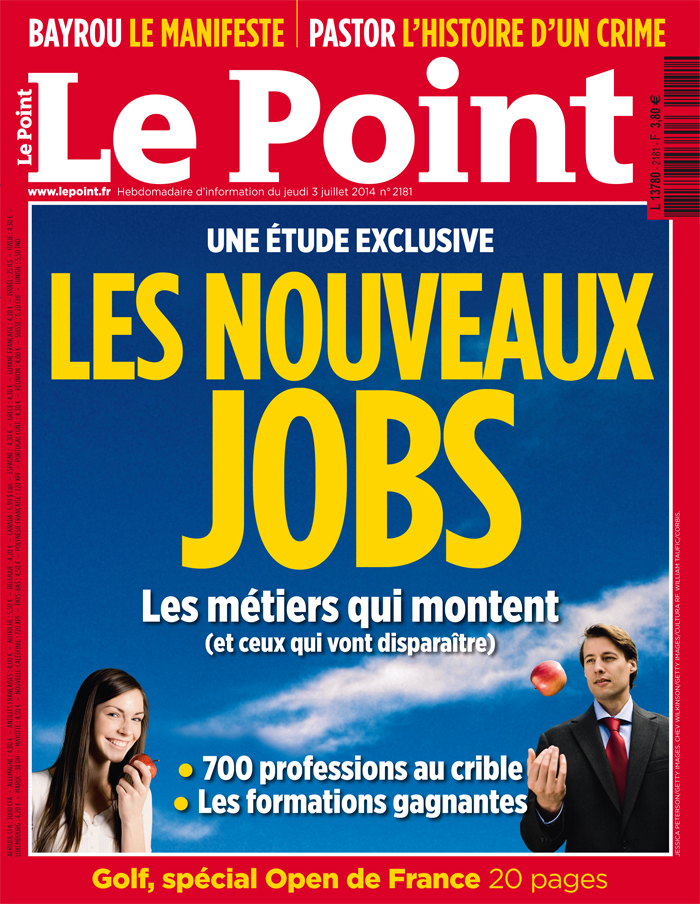 "Couverture du ""Point"" n°2181 ©  DR"
