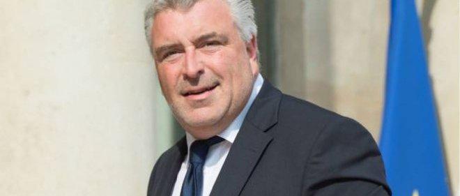 Le secrétaire d'État aux Transports Frédéric Cuvillier.