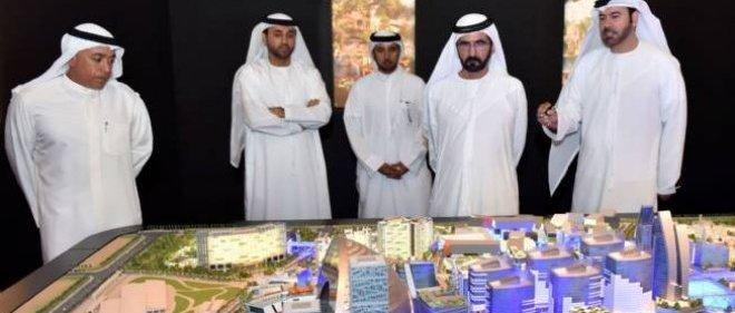 """Le projet """"Mall of the world"""" présenté à Dubaï."""