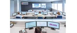 La salle de contrôle des flux logistiques de Daher, à Marignane. ©Jeremy GUILLAUME